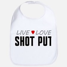 Live Love Shot Put Bib