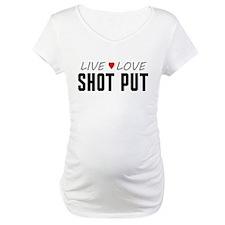 Live Love Shot Put Shirt