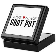 Live Love Shot Put Keepsake Box