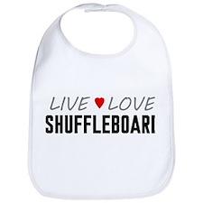 Live Love Shuffleboard Bib