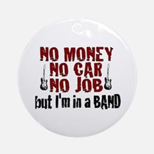 In a Band Ornament (Round)