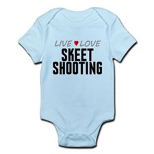 Live Love Skeet Shooting Infant Bodysuit