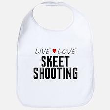 Live Love Skeet Shooting Bib