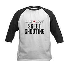 Live Love Skeet Shooting Tee