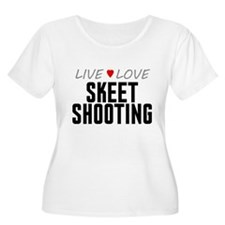 Live Love Skeet Shooting T-Shirt