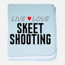Live Love Skeet Shooting Infant Blanket