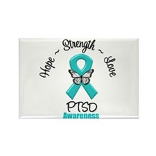 PTSD Rectangle Magnet