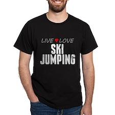 Live Love Ski Jumping T-Shirt