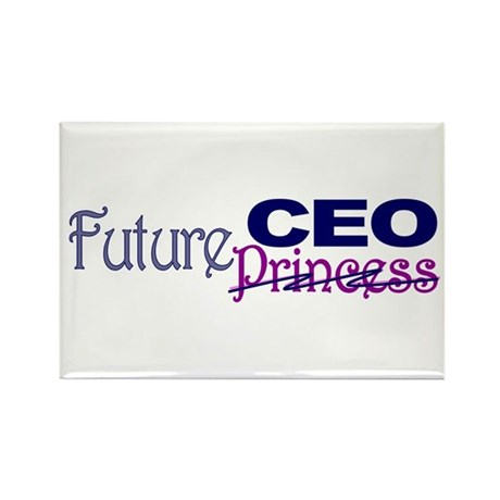 Future CEO Rectangle Magnet