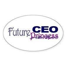 Future CEO Oval Decal