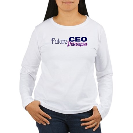 Future CEO Women's Long Sleeve T-Shirt