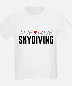 Live Love Skydiving T-Shirt
