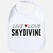 Live Love Skydiving Bib