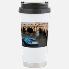 The Skala and boats Stainless Steel Travel Mug