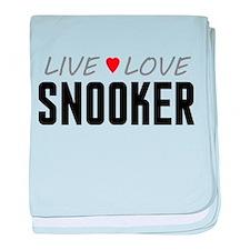Live Love Snooker Infant Blanket