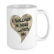 Iraq soldier loves me Mug