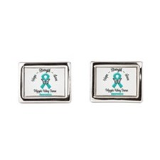 Polycystic Kidney Disease Rectangular Cufflinks