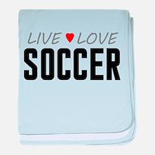 Live Love Soccer Infant Blanket