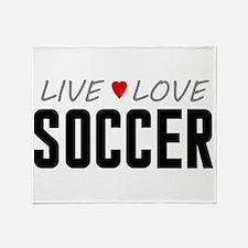 Live Love Soccer Stadium Blanket