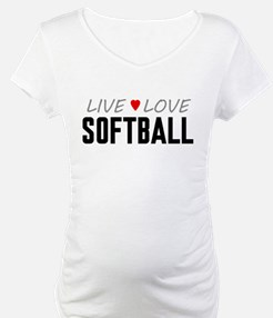 Live Love Softball Shirt