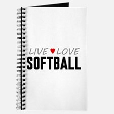 Live Love Softball Journal