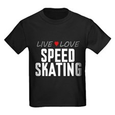 Live Love Speed Skating T
