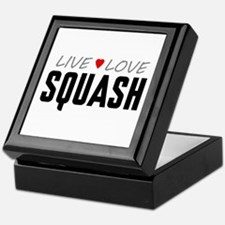 Live Love Squash Keepsake Box