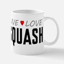 Live Love Squash Mug