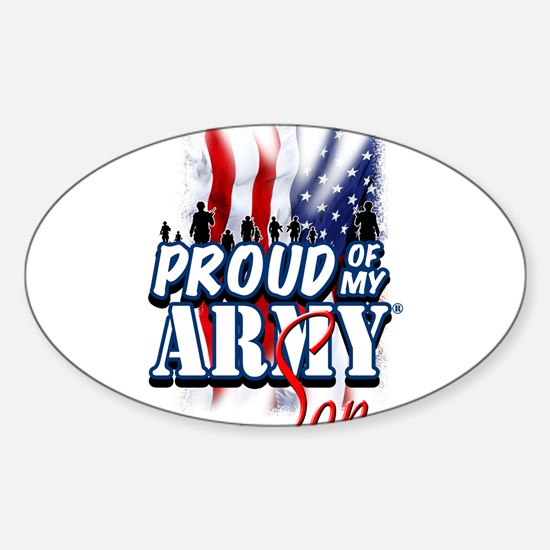 Proud of My Army Son Decal