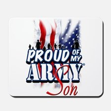 Proud of My Army Son Mousepad