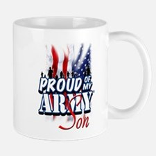 Proud of My Army Son Mugs