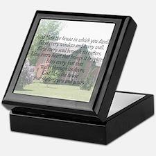 Housewarming Blessing Keepsake Box