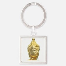 golden head of buddha Keychains