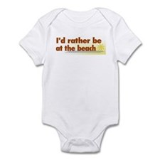 Rather be at the Beach Infant Bodysuit