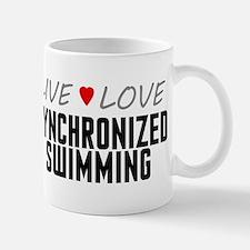 Live Love Synchronized Swimming Mug