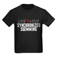 Live Love Synchronized Swimming T