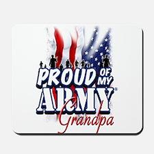 Proud of My Army Grandpa Mousepad