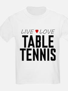 Live Love Table Tennis T-Shirt