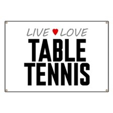 Live Love Table Tennis Banner