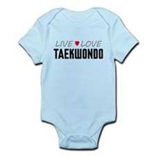 Live Love Taekwondo Infant Bodysuit