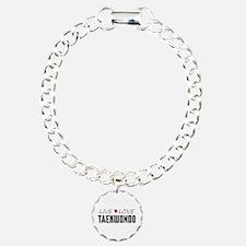 Live Love Taekwondo Bracelet