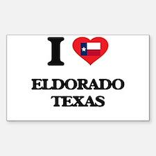 I love Eldorado Texas Decal