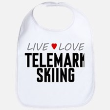 Live Love Telemark Skiing Bib
