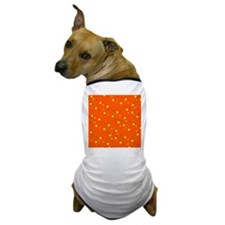 Orange Colorful Dots Sophie's Fave Dog T-Shirt