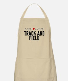 Live Love Track and Field Apron