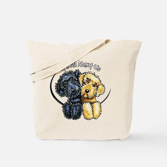 Labradoodle IAAU Tote Bag