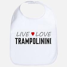 Live Love Trampolining Bib