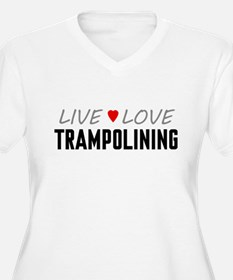 Live Love Trampolining T-Shirt