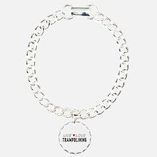 Live Love Trampolining Bracelet