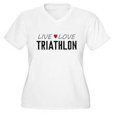 Live Love Triathlon T-Shirt